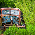 Abandoned Truck In Rural Michigan by Adam Romanowicz