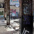 Abandoned Warehouse Beams by Anita Burgermeister