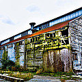 Abandoned Warehouse On The Swinomish Channel - La Conner Washington by David Patterson