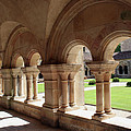 Abbey Fontenay - Cloister Vault  by Christiane Schulze Art And Photography