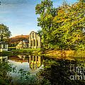 Abbey Lake Autumn by Adrian Evans