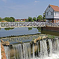 Abbey Mill And Weir by Tony Murtagh