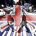 Abbey Road Union Jack by Dan Sproul