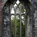 Abbey Window  by Christiane Schulze Art And Photography