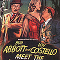 Abbott And Costello Meet The Invisible Man  by Movie Poster Prints
