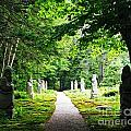 Abby Aldrich Rockefeller Path Statuary by Lizi Beard-Ward