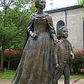 Abigail Adams Statue by Barbara McDevitt
