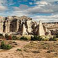 Abiquiu New Mexico Plaza Blanca In Technicolor by Silvio Ligutti
