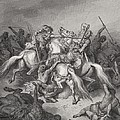 Abishai Saves The Life Of David by Gustave Dore