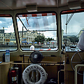 Aboard Friendship And Approaching The Boardwalk At Walt Disney World by Thomas Woolworth