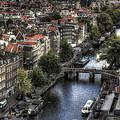 Above Amsterdam by Arnie Arnold