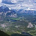 Above Banff by Stuart Litoff