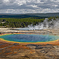 Above Grand Prismatic by Wes and Dotty Weber