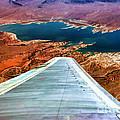 Above Lake Mead By Diana Sainz by Diana Raquel Sainz