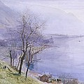 Above Montreux by John William Inchbold