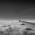 Above The Clouds Bw by Michael Ver Sprill