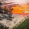 Above The Clouds - Paint by Steve Harrington