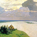 Above The Eternal Peace by Isaak Ilyich Levitan