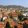 Above The Roofs Of Cannes by Christine Till