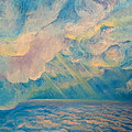 Above The Sun Splashed Clouds by Anne Cameron Cutri
