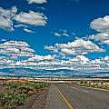 Abq From 9 Mile Hill by Don Durante Jr
