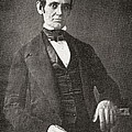 Abraham Lincoln, 1809 – 1865.  16th President Of The United States Of America.  From Abraham by Bridgeman Images