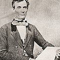 Abraham Lincoln, 1809 – 1865, Seen Here In 1854.  16th President Of The United States Of America by Bridgeman Images