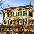 Abraham Lincoln Home In Springfield Illinois by Paul Velgos
