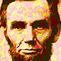 Abraham Lincoln Portrait by Samuel Majcen