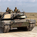 Abrams M1a1 Main Battle Tank by Andrew Harker