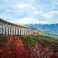 Abruzzo Italian Countryside  by Donna Proctor