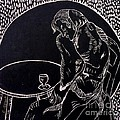 Absinthe Drinker After Picasso by Caroline Street