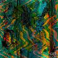 Abstract - Emotion - Apprehension by Barbara Griffin