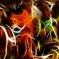 Abstract 001 by Wayne Wood