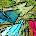 Abstract 013 by Wayne Wood