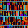 abstract - art- Color Pop  by Ann Powell