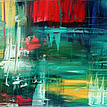 Abstract Art Colorful Original Painting Bold And Beautiful By Madart by Megan Duncanson
