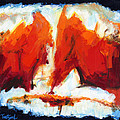 Abstract Art Forty-three by Lynne Taetzsch