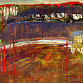 Abstract Art Landscape by Blenda Studio