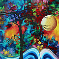 Abstract Art Original Enormous Bold Painting Essence Of The Earth I By Madart by Megan Duncanson