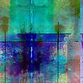 abstract - art- Rhapsody in Blue by Ann Powell