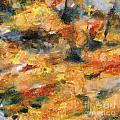 Abstract Autumn 1 by Dragica  Micki Fortuna