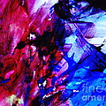 Abstract Blue And Pink Festival by Andrea Anderegg