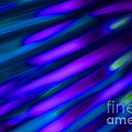 Abstract Blue Green Pink Diagonal by Marvin Spates