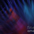 Abstract Blue Red Green Diagonal Blur by Marvin Spates