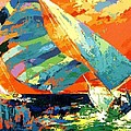 Abstract Boat Ride  by IAMJNICOLE JanuaryLifeBrand