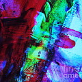 Abstract Bold Colors by Andrea Anderegg