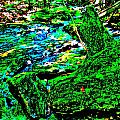 Abstract Brook Bits 56 by George Ramos