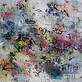 Abstract Butterfly Dragonfly Painting by Seon-Jeong Kim