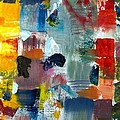 Abstract Color Relationships Lv by Michelle Calkins